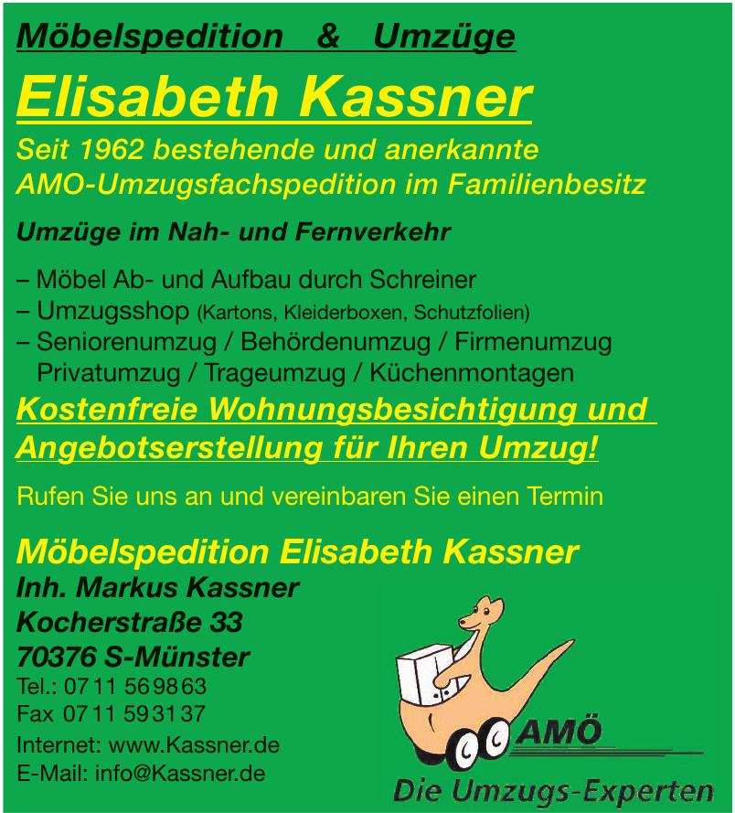 Möbelspedition Elisabeth Kassner