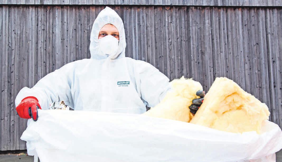 Aufgepasst beim Rückbau und der Entsorgung von Gefahrstoffen. Foto: Suhn