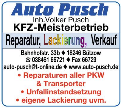 Auto Pusch