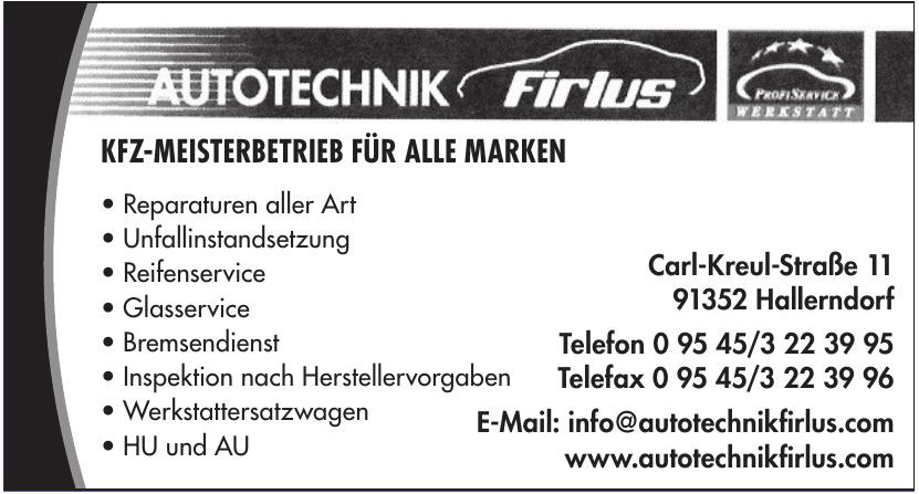 Autotechnik Firlus