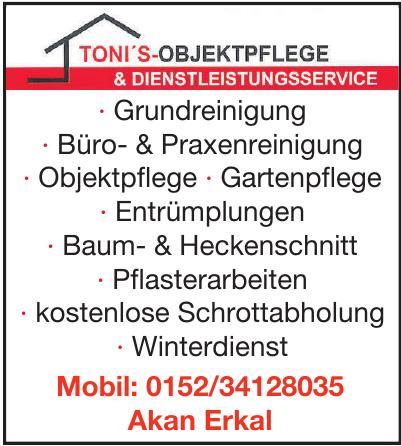 Toni's-Objektpflege & Dienstleistungsservice