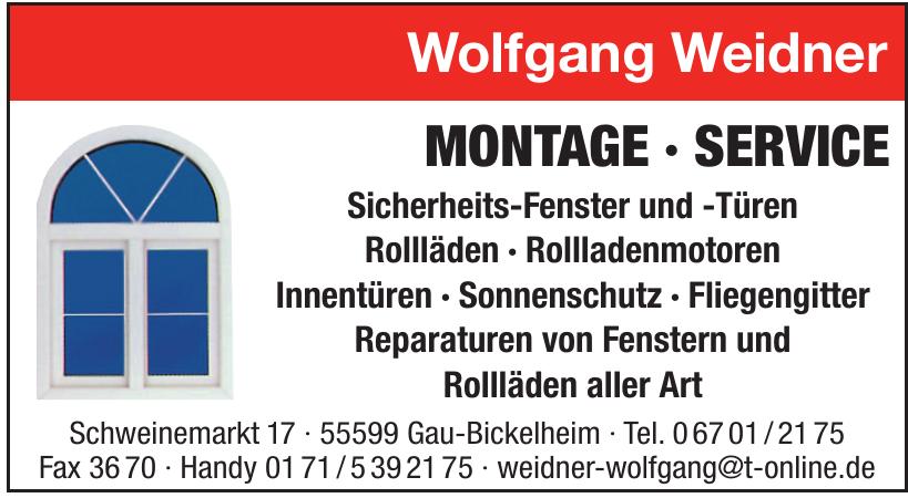 Wolfgang Weidner