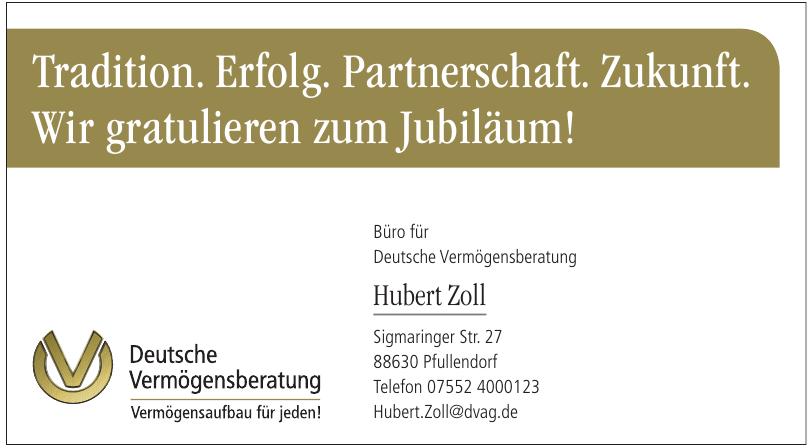 Deutsche Vermögensberatung - Hubert Zoll