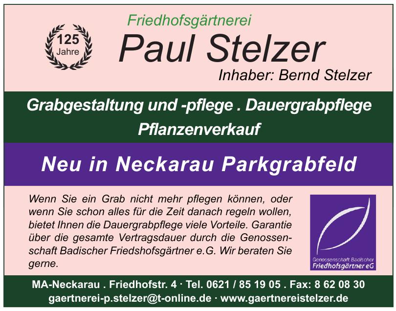 Friedhofsgärtnerei Paul Stelzer