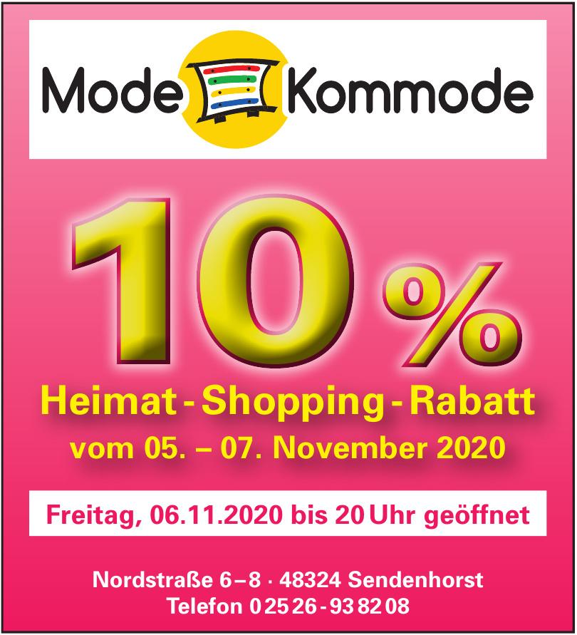 Modehaus Kommode