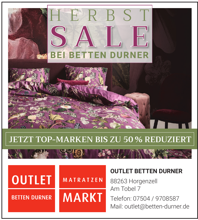 Outlet Betten Durner