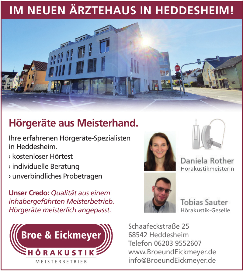 Broe & Eickmeyer Hörakustik
