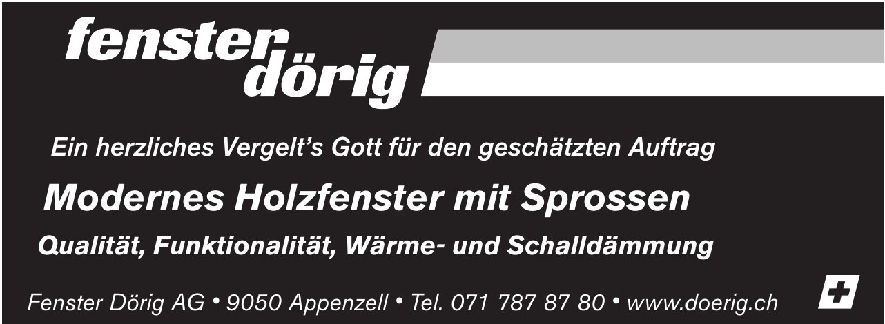 Fenster Dörig AG