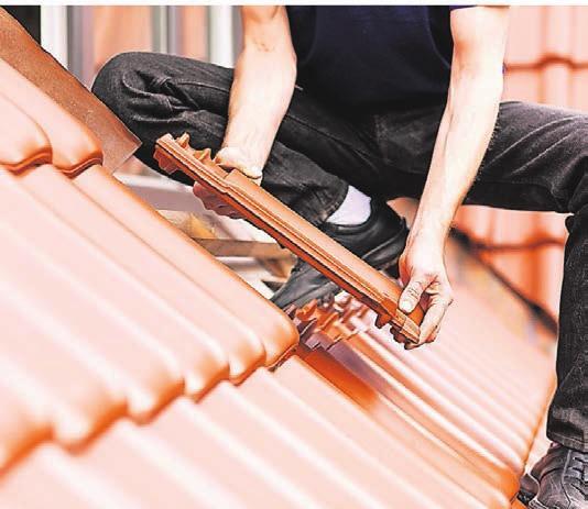 Das Dachdeckerhandwerk blickt optimistisch auf das laufende Jahr.