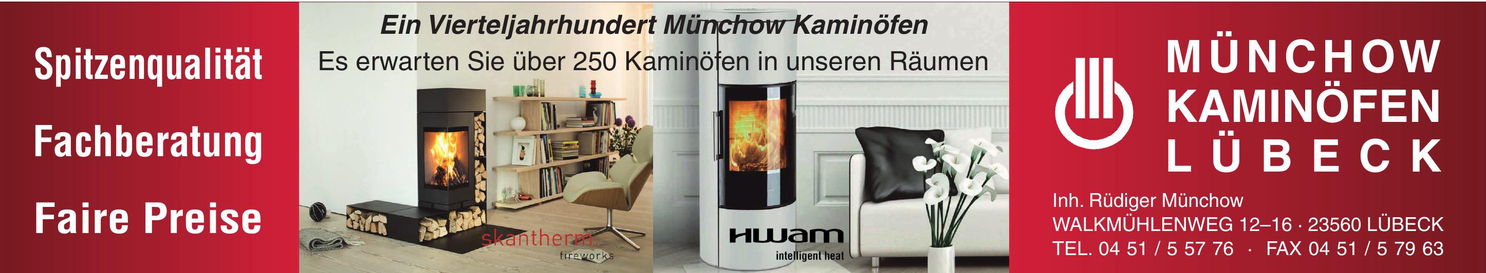 Münchow Kaminöfen Lübeck