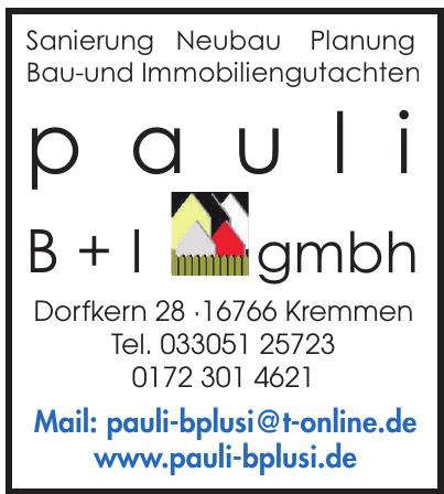 pauli B + I GmbH