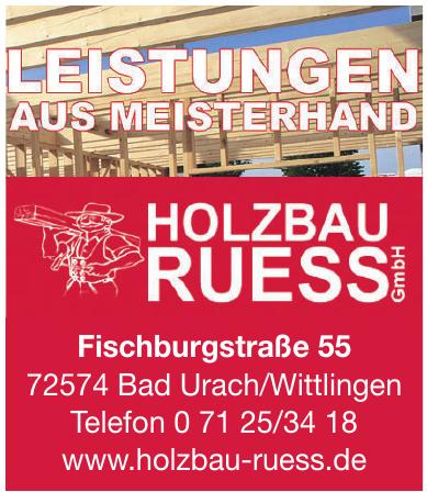 Holzbau Ruess GmbH