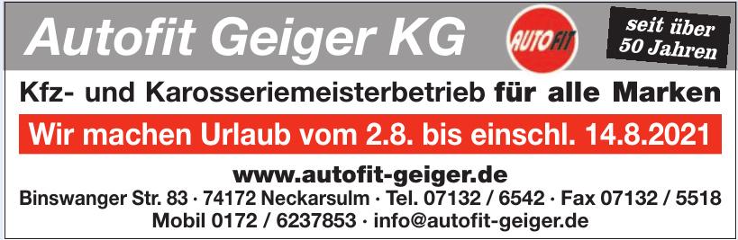 Autofit Geiger KG