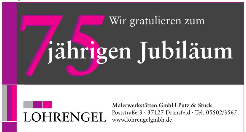 Lohrengel Malerwerkstätten GmbH Putz & Stuck