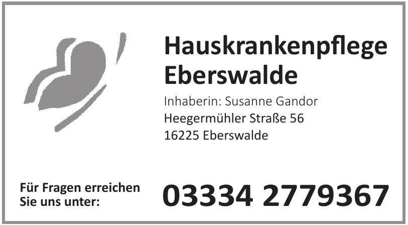 Hauskrankenpflege Eberswalde