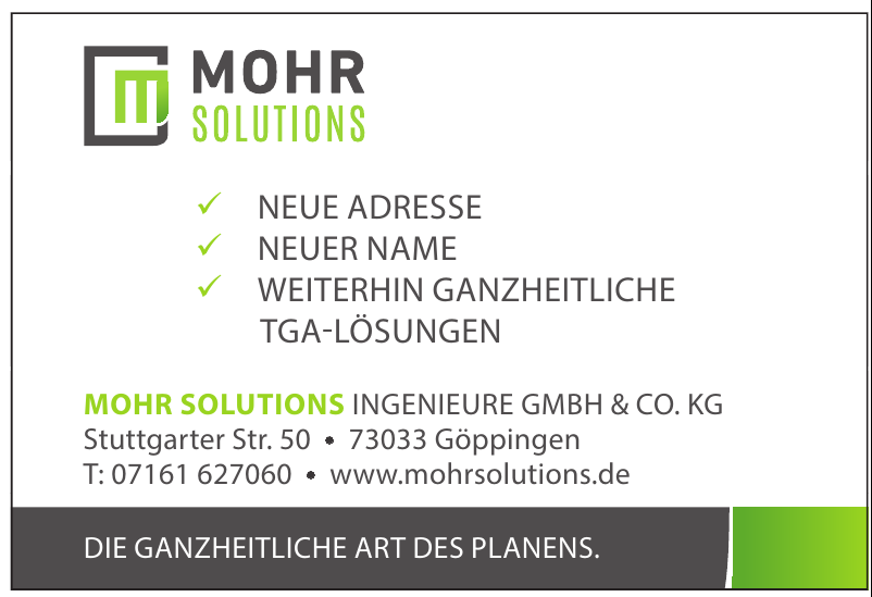 Mohr Solutions Ingenieure GmbH & Co. KG
