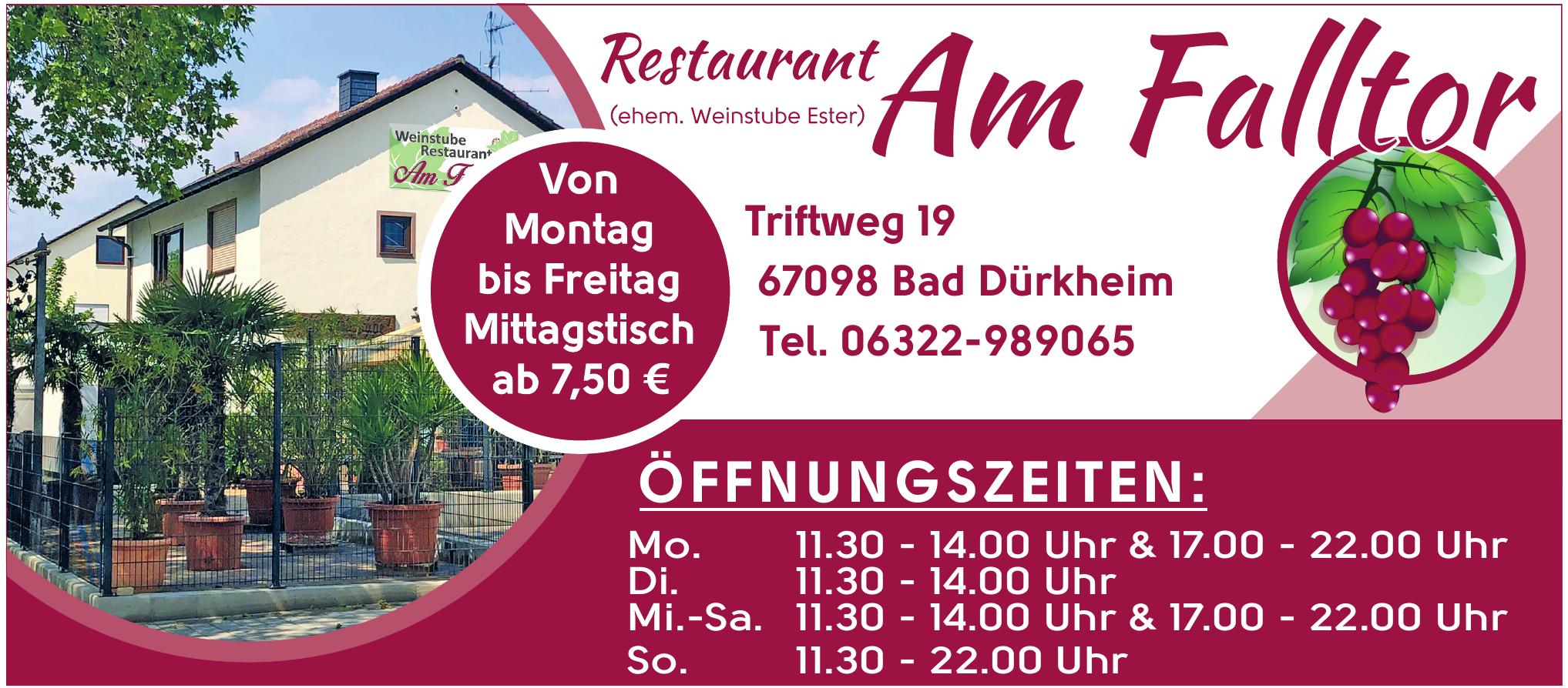 Restaurant Am Falltor