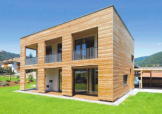 Gesundheitsbewusstes Bauen mit Holz Image 1