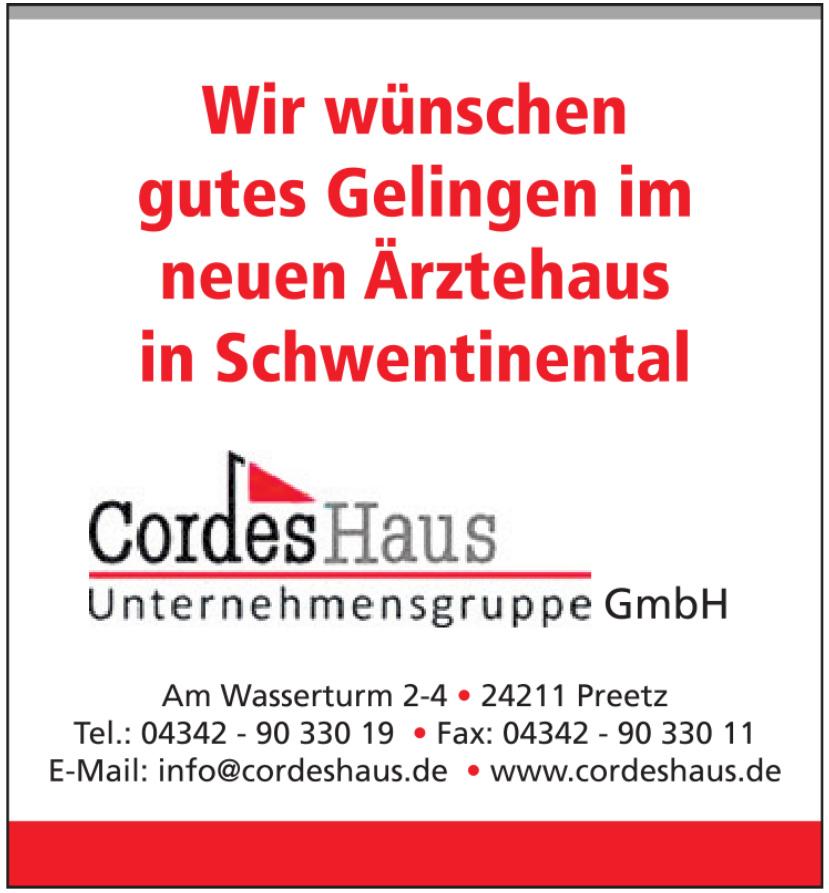 CordesHaus Unternehmensgruppe GmbH