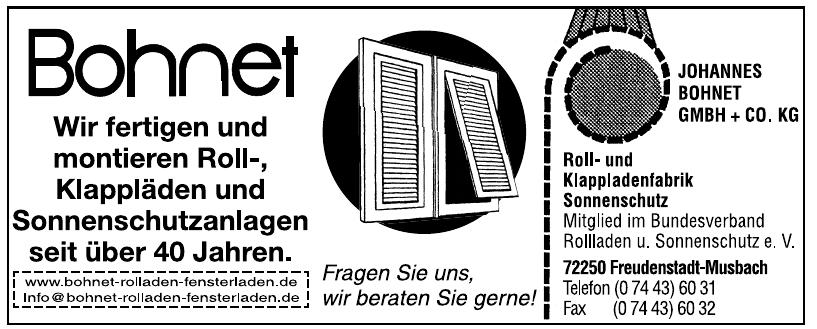 Johannes Bohnet GmbH + Co. KG