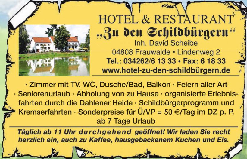 Hotel & Restaurant  Zu den Schildbürgern