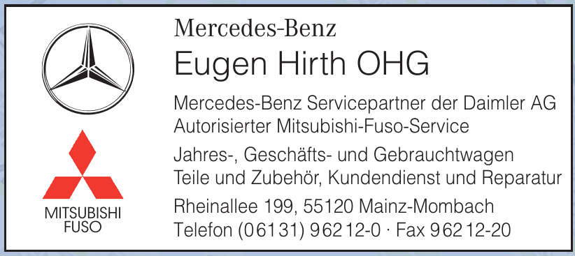 Eugen Hirth OHG