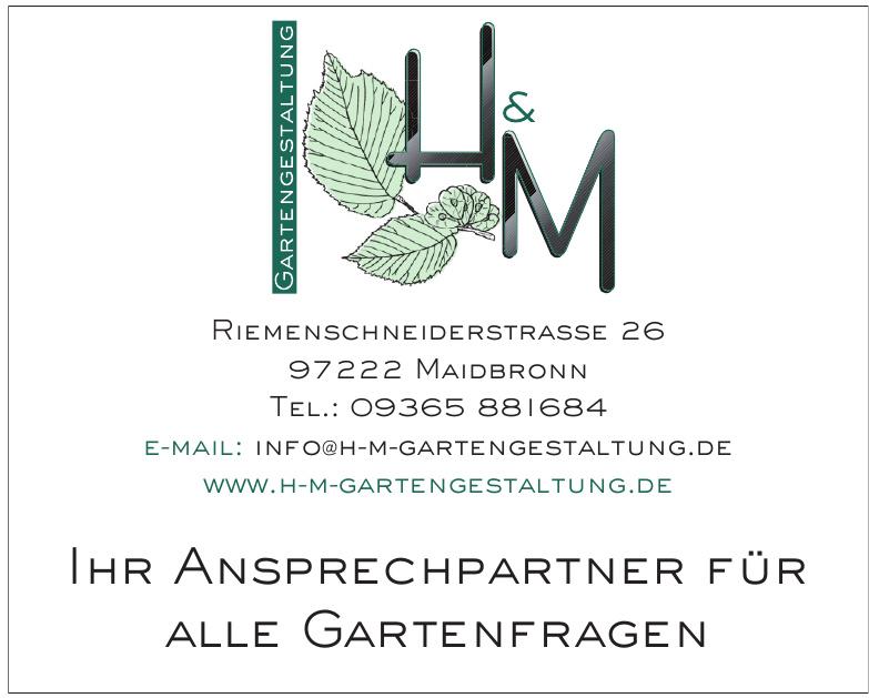 H&M Gartengestaltung