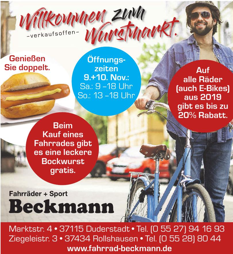 Fahrräder + Sport Beckmann