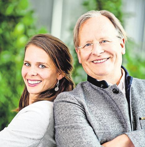 EIN TEAM: Friederike und Dietrich Grönemeyer. Foto:Sascha Reichert