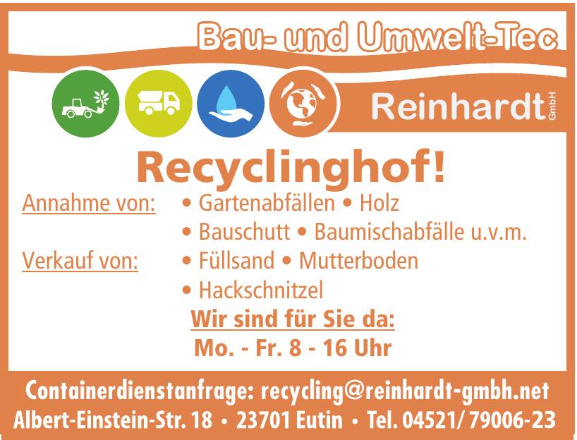 Bau- und umwelt-Tec Reinhardt GmbH