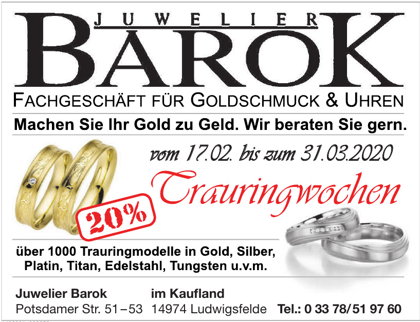 Juwelier Barok