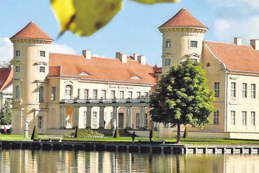 Schloss Rheinsberg ist Schauplatz von Konzerten. FOTOS: DPA