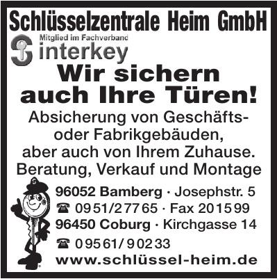 Schlüsselzentrale Heim GmbH