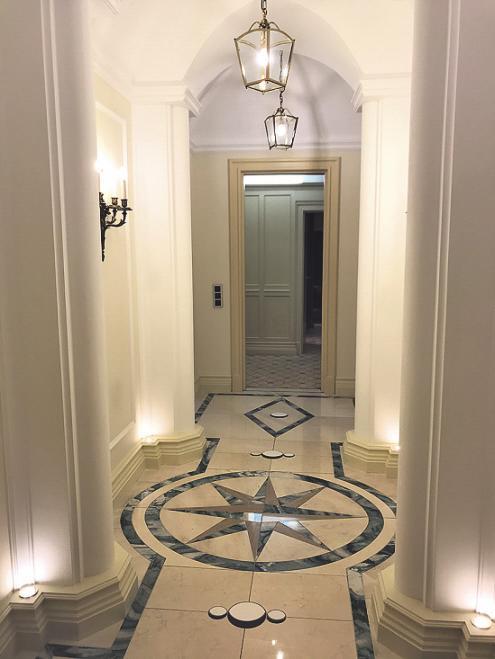 Der Eingangsbereich der Suite.Foto: Büge