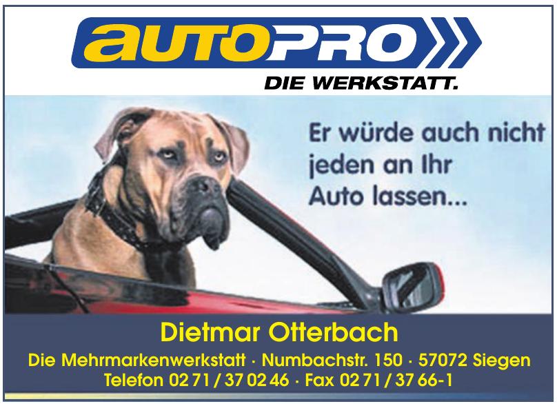 Dietmar Otterbach - Die Mehrmarkenwerkstatt