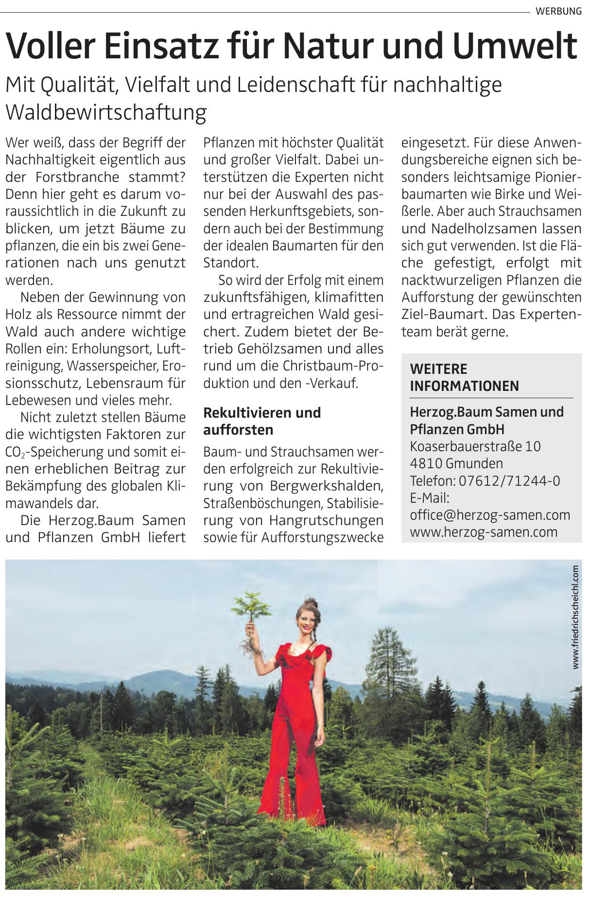 Herzog.Baum Samen und Pflanzen GmbH