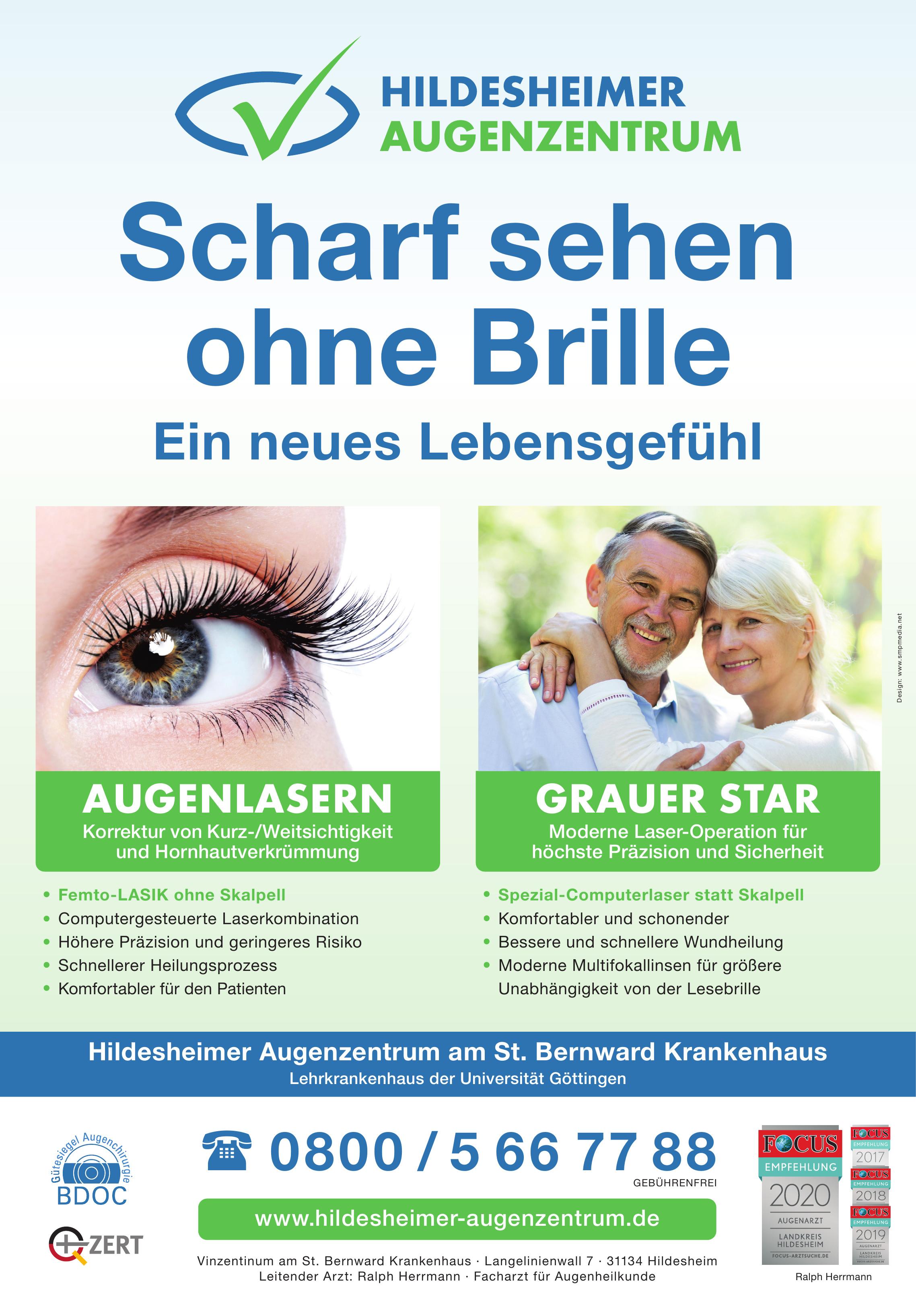 Hildesheimer Augenzentrum am St. Bernward Krankenhaus