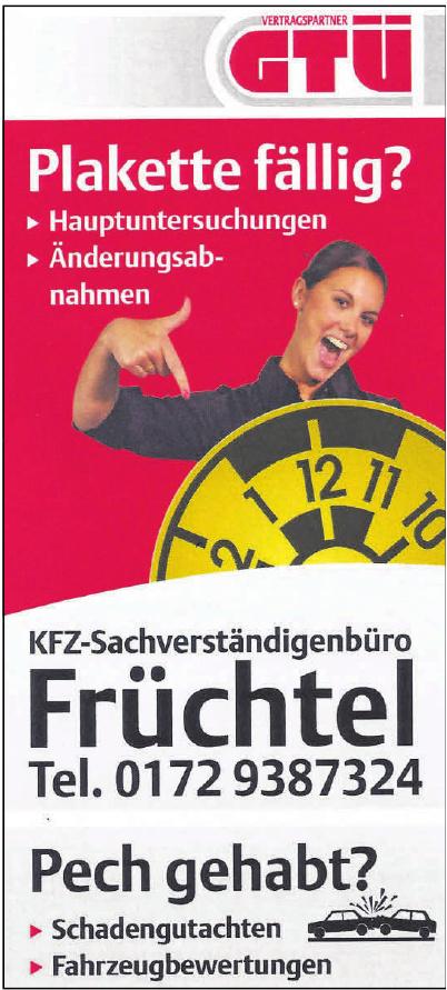 Kfz-Sachverständigenbüro Früchtel