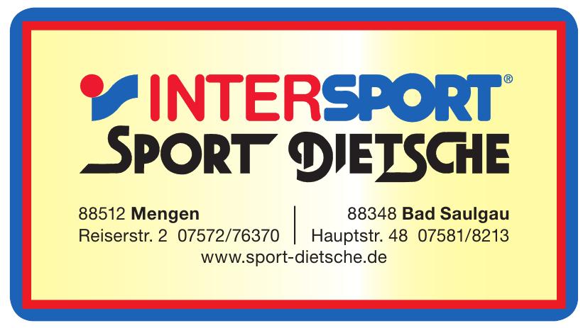 Intersport - Spor Dietsche
