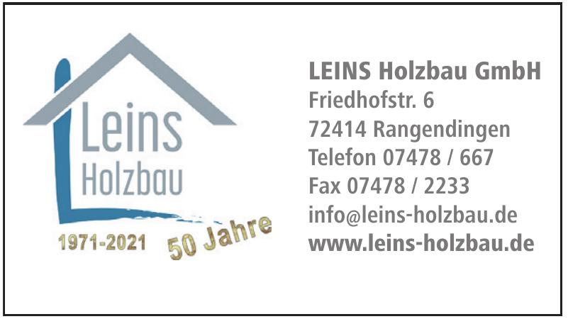 Leins Holzbau GmbH