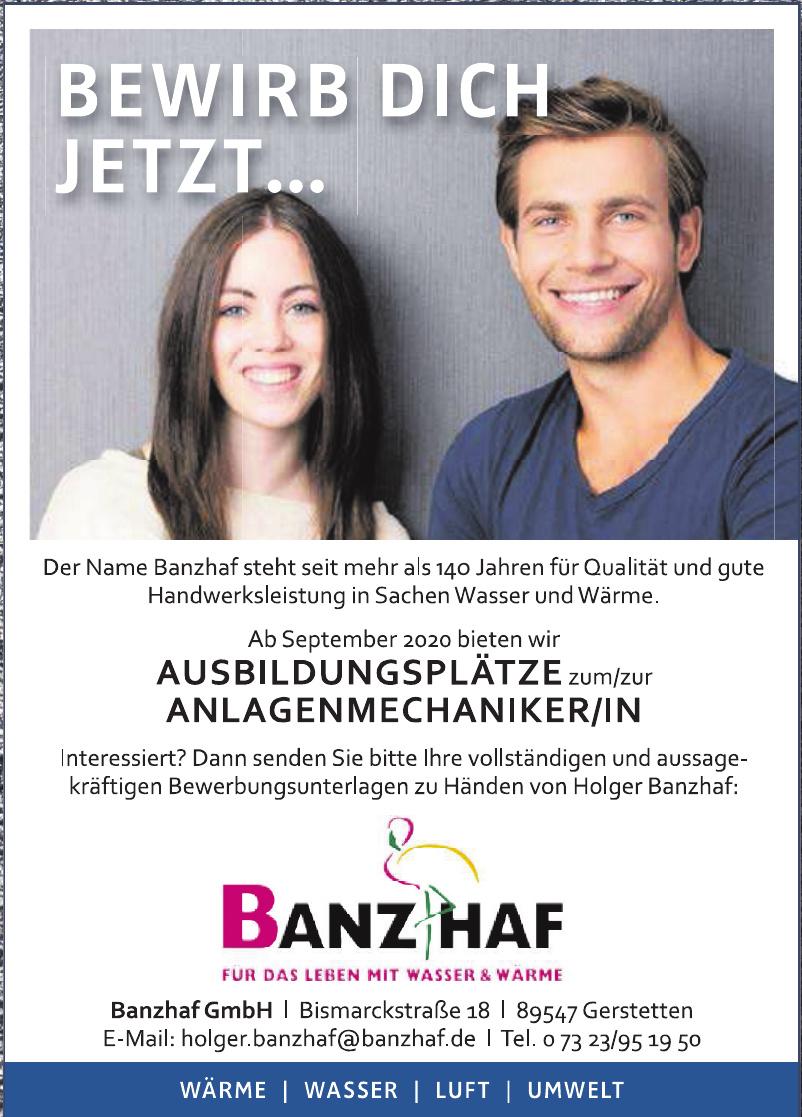 Banzhaf GmbH Moderne Haustechnik