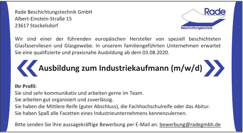 Rade Beschichtungstechnik GmbH
