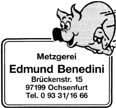Metzgerei Eduard Benedini