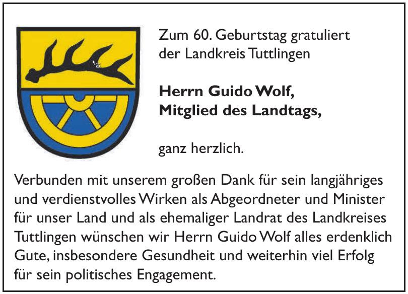Landrat des Landkreises Tuttlingen