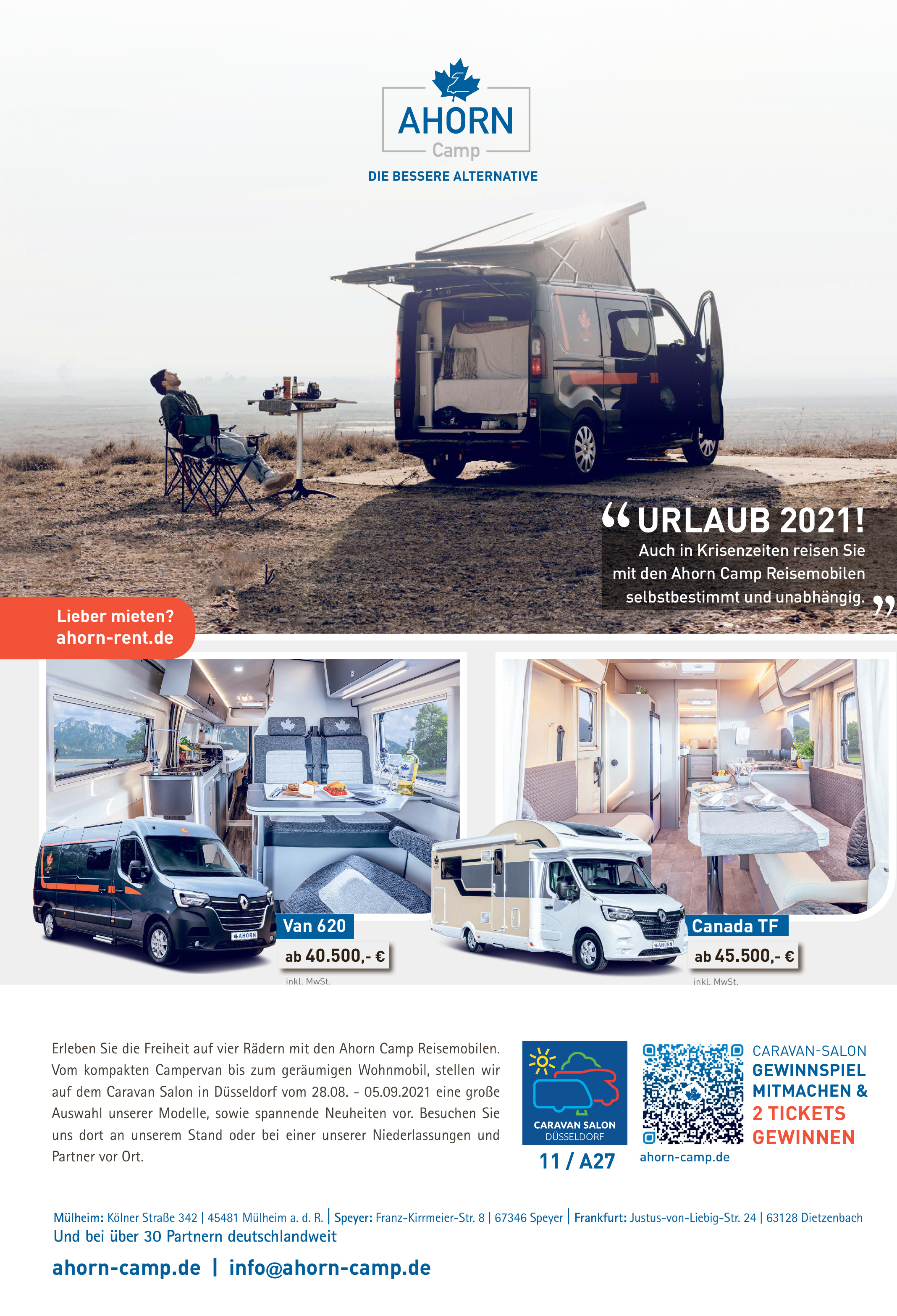 Ahorn Camp Reisemobilen
