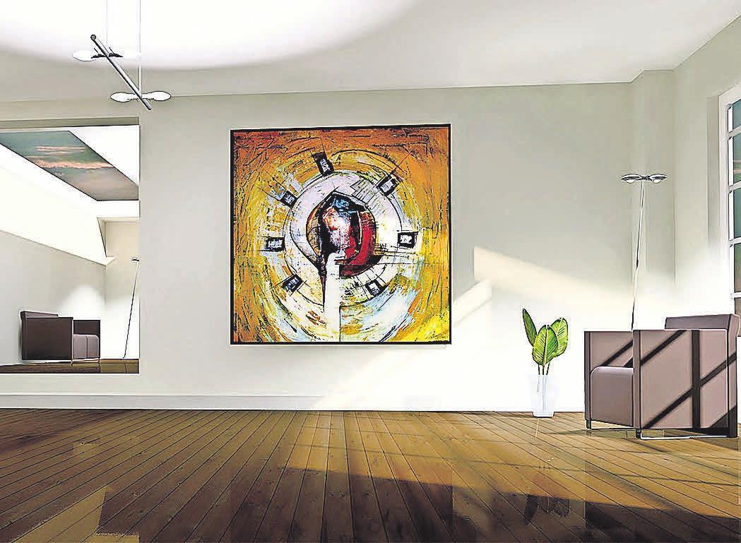 Durch die hell gehaltene Wandfarbe wirkt der Raum einladend und strahlt eine angenehme Atmosphäre aus. Foto: pixabay