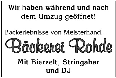 Bäckerei Rohde