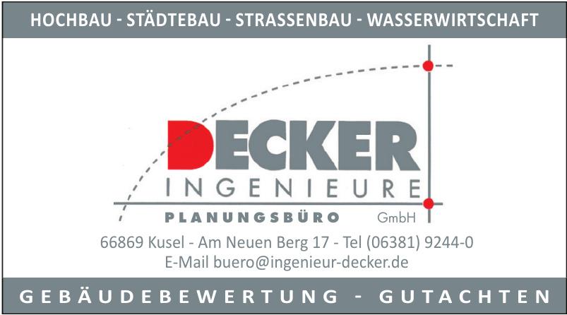 Decker Ingenieure Planungsbüro GmbH
