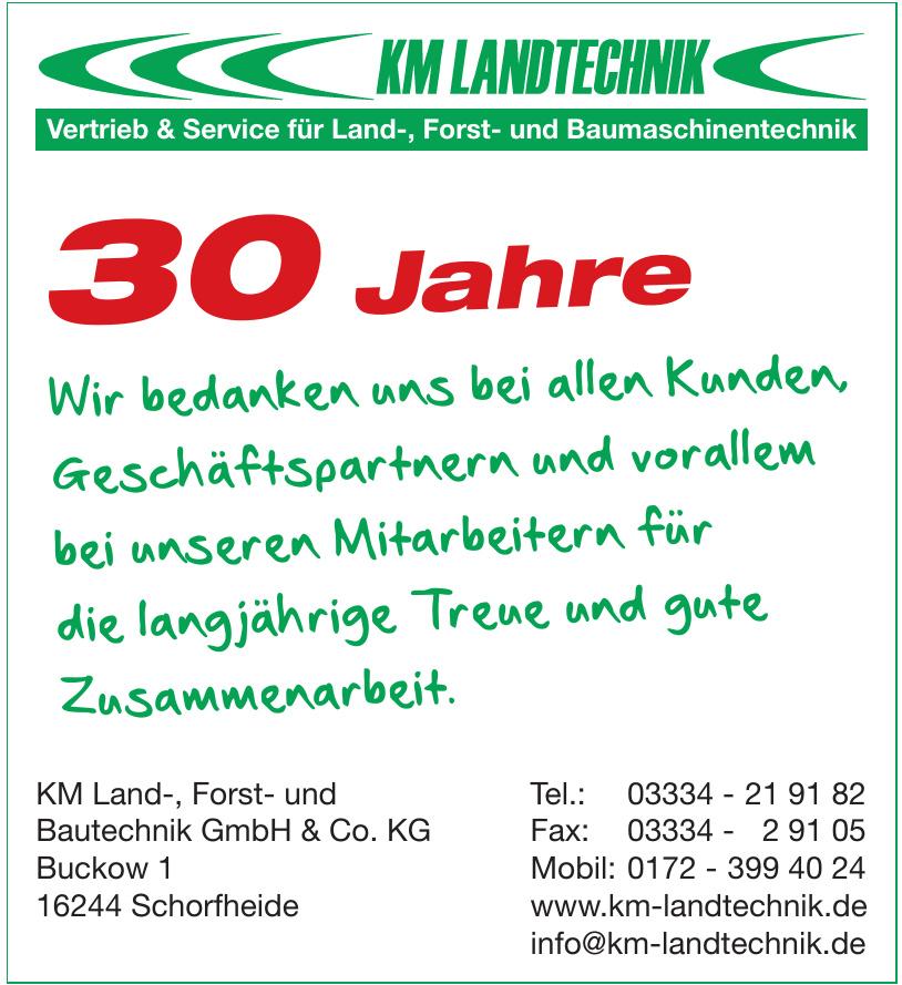KM Land-, Forst- und Bautechnik GmbH & Co. KG