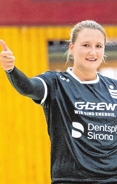 Torfrau Jessica Kockler ist neue Flames-Mannschaftsführerin.